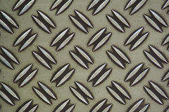 Stalowa diamentu talerza tekstura Obraz Stock
