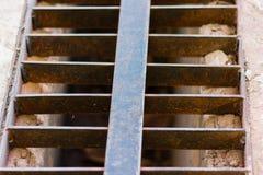 Stalowa greting rdza Zdjęcia Stock
