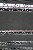Stalowa struktura stropuje 3 Zdjęcie Royalty Free
