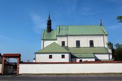 The monastery in Stalowa Wola, Poland. Stalowa Wola, Poland - April 29, 2018: The monastery of the Order of Friars Minor Capuchins, belonging to the parish of royalty free stock photos