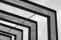 Stalowe struktury obrazy stock