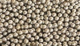 stalowe tło piłki Zdjęcia Stock