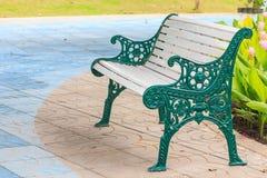 Stalowego krzesła współczesny styl Fotografia Stock