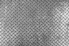 Stalowego metalu Stary ośniedziały zapobiegać wśliznąć Deseniowego tło royalty ilustracja