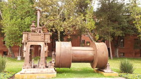 Stalowego przemysłu wspominki parkiem Obrazy Royalty Free