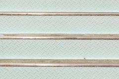 Stalowego talerza schodków tekstury backlground Fotografia Royalty Free