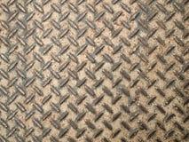 Stalowej podłoga tekstura Zdjęcia Royalty Free