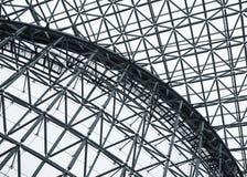 Stalowej struktury dachu wzoru architektura wyszczególnia Nowożytnego budynek Zdjęcia Stock