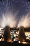 stalowi kapitałowi Beijing startrails Zdjęcie Royalty Free