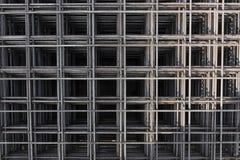 Stalowi Rebars dla zbrojonego betonu Stalowa wzmacnienie baru tekstura w budowie obrazy royalty free