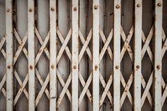 Stalowy drzwi Zdjęcia Stock