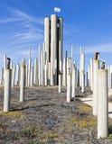Stalowy formacja pomnik Fotografia Stock