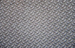 Stalowy greting dla śliskiej podłoga lub schodka w fabryce zdjęcie stock