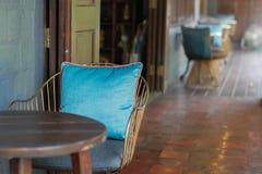 Stalowy krzesło Fotografia Stock