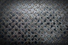 Stalowy manhole Fotografia Stock