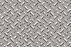 Stalowy metalu tła szarość talerz Obraz Royalty Free