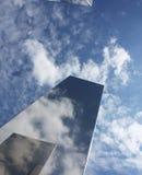 Stalowy niebo fotografia stock