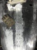 Stalowy Samochodowy ciało Obrazy Royalty Free
