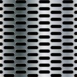 Stalowy tło z bezszwową elipsą dziurkował węgiel tekstury tło Zdjęcia Stock