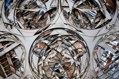 Stalowy tło -2 Obraz Stock