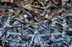 Stalowy tło -3 Zdjęcia Stock
