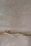Stalowy talerz spawający Fotografia Royalty Free
