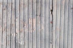 Stalowy trapezoidu prześcieradło Fotografia Stock