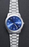 stalowy zegarek Zdjęcia Stock