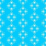 Stam- diagram Vitmodeller på en blå bakgrund Arkivfoton