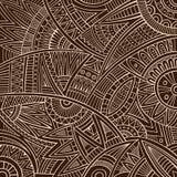 Stam- etnisk bakgrund för abstrakt vektor Arkivfoton