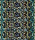 Stam- etnisk bakgrund för abstrakt vektor Royaltyfri Fotografi