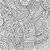 Stam- etnisk bakgrund för abstrakt vektor Arkivbilder