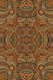 Stam- etnisk bakgrund för abstrakt vektor Royaltyfria Bilder