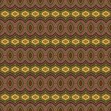 Stam- etnisk sömlös modell för abstrakt vektor Royaltyfria Bilder