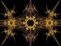 stam- fractalmodell Royaltyfri Bild