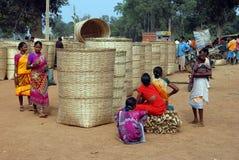 stam- india folk Royaltyfri Bild