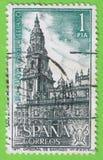 Stam katedra Santiago w Hiszpania Obraz Royalty Free