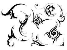 stam- konst royaltyfri illustrationer