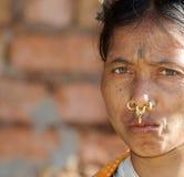 stam- kvinna Arkivbild
