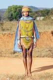 stam- kvinna för bonda Arkivfoton