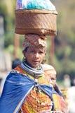 stam- kvinna för bonda Royaltyfri Bild