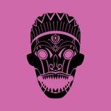 stam- maskering royaltyfri illustrationer