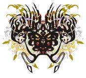 Stam- ovanlig spindel med färgrika färgstänk Fotografering för Bildbyråer