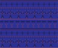 Stam- sömlös modell - infött tecken för Berber, etnisk bakgrund royaltyfria foton