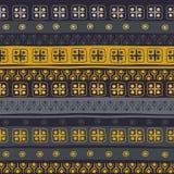 Stam- seamless mönstrar Royaltyfria Bilder