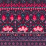 Stam- seamless mönstrar Royaltyfri Fotografi
