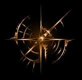 stam- tappning för abstrakt emblem Royaltyfri Fotografi