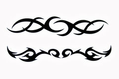 stam- tatoo Arkivfoton