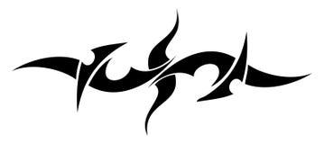 stam- tatuering royaltyfri illustrationer