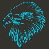 Stam- tatuering för fågel stock illustrationer